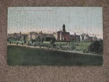 Blooming Dale Insane Assylum, Worcester, Mass., 1907, used vintage card