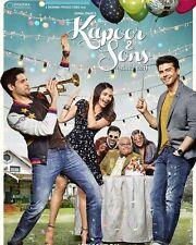 Kapoor and Sons (2016) - Sidharth Malhotra, Fawad - bollywood hindi movie  dvd