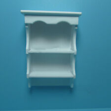 Dollhouse Miniature Clear Acrylic  Shelf ONLY