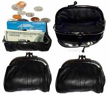 Lot of 4 Change Purse, leather coin case, Women's mini pocket Change coin case