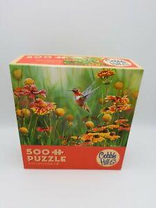 500 Pieces Puzzle - Rufous Hummingbird - COBBLE HILL - Rarity