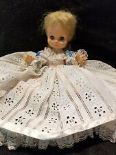 Vintage •°°•Horsman Doll•°°• 1967 11 Inches Sleepy Eyes  Blonde Hair Blue eyes