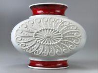 60er 70er Jahre Vase Blumenvase Tischvase Porzellan Space Age Design 60s 70s
