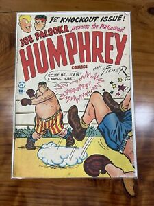 Humphrey Comics No.1 (1948) Joe Palooka Spinoff Harvey Publications Golden Age