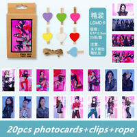 Kpop ITZY IT'z Different Polaroid Lomo Photo Card HD Collective Photocards 20pcs