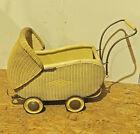 8780006 Kinderwagen 50er Jahre Korbkinderwagen