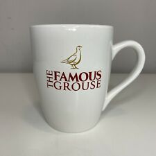 The Famous Grouse MUG - Official Merchandise Cup Whisky Ceramic Red Writing