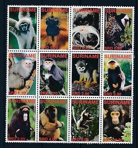 [SU1406] Suriname Surinam 2006 Primates Monkeys  MNH