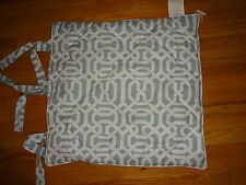 Pottery Barn Terri Trellis Pillow Sham-One Euro Size-Blue-3 Available