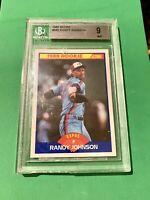 BGS graded 1989 Score Randy Johnson #645 Rookie MINT 9  (9.5, 9, 8.5, 9) Beckett
