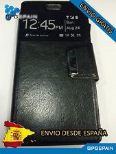 Funda Carcasa Libro Iman Alcatel Pop3 5.5 Negra ENVIO GRATIS