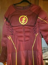 Deluxe The Flash TV Show Adult Costume NEW Size XL
