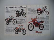 advertising Pubblicità 1984 MALAGUTI FIFTY FULL CX/RCX W/SAHIB/RGT 50/ENDURO MDX