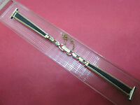 """NEW Ladies Speidel Vintage 10K Yellow Gold Filled Watch Band 12.5mm (1/2"""")"""