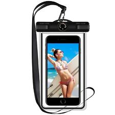 Waterproof Case, Mobile Phone Bag with Thermometer for Apple iPhone 7/6 plus