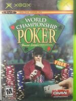 World Championship Poker Game & DVD Edition Xbox Complete 2 Disc