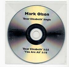(IW360) Mark Olson, Dear Elisabeth - DJ CD