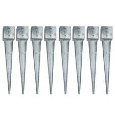 Bodenhülse Einschlaghülse 8x 121x121x750mm Pfostenträger Einschlagbodenhülse