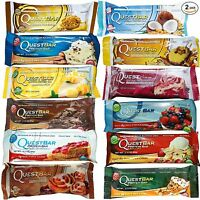 QUEST NUTRITION PROTEIN BARS 3,6,9,12,15 or 18  MIXED QUEST BARS+FREE SAMPLE
