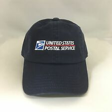 USPS Dad Hat Cotton Ball Cap United States Postal Service Adjustable Navy OSFM