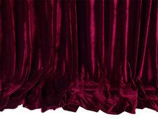 Large Thick Velvet Curtain 300x230cm with full liner 15 hooks Burgundy New