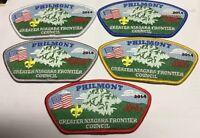Greater Niagara Frontier Council 2014 Philmont CSP Set