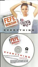 FEFE DOBSON Everything w/RARE RADIO EDIT EUROPE PROMO CD Single USA Seller fe fe