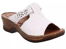Ladies Sandal Shoe Josef Seibel Catalonia 32 White Size Eu38/uk5