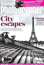 Amateur Photographer magazine with Panasonic TZ100 camera  tested  7th May 2016