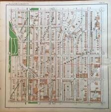 1925 KANSAS CITY MISSOURI LONGFELLOW UNION CEMETERY ATLAS MAP