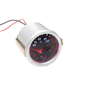 "2"" 52mm Digital LED Water Temp Temperature Gauge With Sensor Car renovation New"