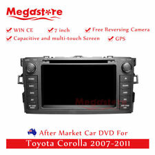 "7"" Car Dvd Gps Navigation Head Unit Stereo For Toyota Corolla 2007-2011"