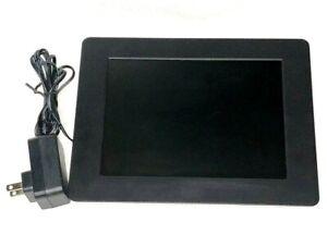 Aluratek ADPF08SF 8 inch LCD Digital Photo Frame - Black