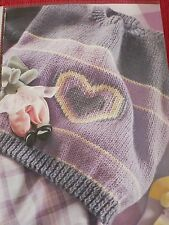 Childrens Heart Sweater Knitting Patterns Magazine Extract by Sylvia Leake