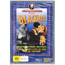 DVD BLACKMAIL Ondra Longden Hitchcock 1929 B&W Crime Suspense PAL REGION 4 [BNS]