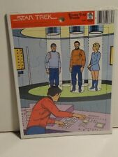 Vintage 1979 STAR TREK Captain Kirk Spock Merrigold Press Frame-Tray Puzzle