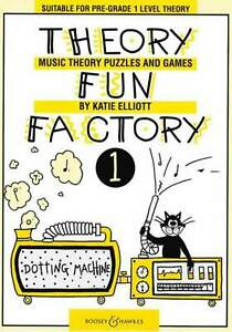Theory Fun Factory Book 1 - Music Theory Puzzles and Games (Katie Elliott)
