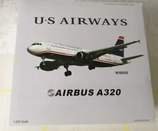 """US Airways A320 N106US 1/200 by Inflight Models. """"MIRACLE ON HUDSON"""". BRAND NEW"""