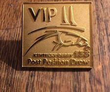 Kentucky Derby Pin VIP Post Position Draw Churchill Downs 2007