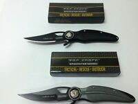 "Lot of 2 Tac-Force 8"" Folding Knives Tactical"