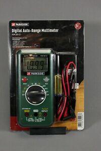 Parkside Digital Auto-Range Multimeter PDM 300 C2 Test Meter Detector Checker
