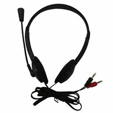 3.5mm Stereo Headset Earphone Headphone with Microphone for Laptop K5O5