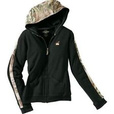 Realtree Girl Hooded Black with Camo Jacket