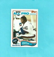 1982 Topps #434 Lawrence Taylor RC Rookie Football Card NY Giants - High grade!