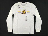 NEW Nike Los Angeles Lakers - Men's Long Sleeve Shirt (Multiple Sizes)
