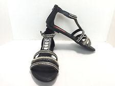 """Women's UnionBay Black Jeweled Gladiator Sandals """"Gizelle"""" Size US 7 M"""