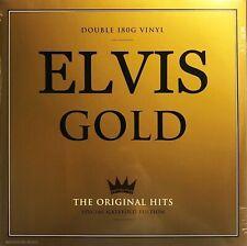 ELVIS PRESLEY LP x 2 The Gold Collection UK Double vinyl Album BEST OF SEALED