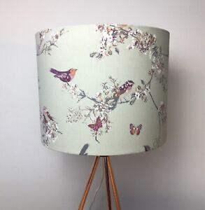Beautiful Birds Sage Handmade Lampshade