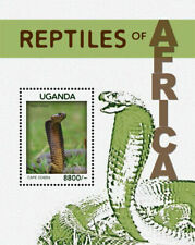 Uganda 2013 - REPTILES OF AFRICA - Souvenir Sheet  - MNH