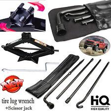 Hi-Q Spare Tire Lug Wrench Tool Kit For Ford F150 (2004-14 ) & 2Ton Scissor Jack